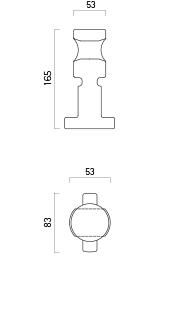Verbindungsstück (standard) - Technische Zeichnung
