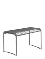 Tisch beschichtet für den Aussenbereich zum Festeinbau