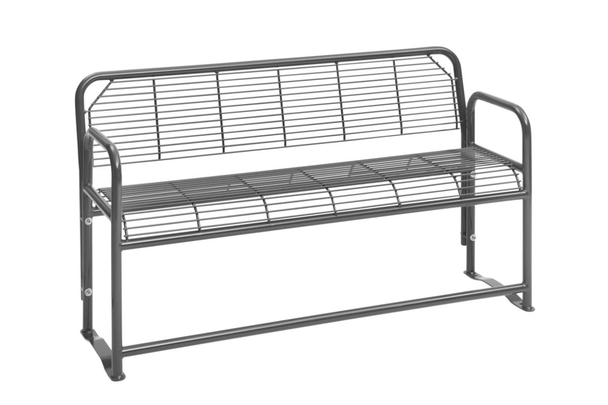 parkbank dreier parkbank mit r ckenlehne abes. Black Bedroom Furniture Sets. Home Design Ideas