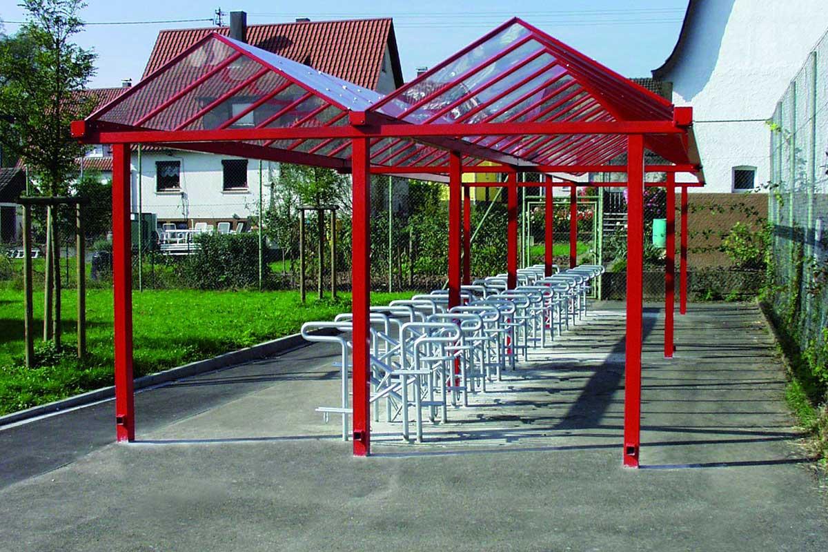 verzinkter fahrradparker 1.401 | abes public design