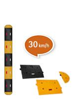 speed barrier 30 km/h