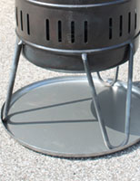 Temperatur Schutzplatte für Feuerkorb 935