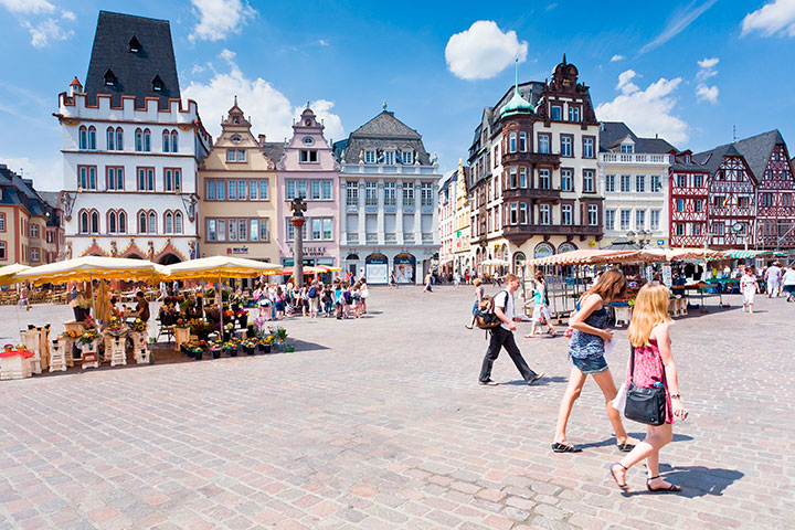 Marktplatz in Trier